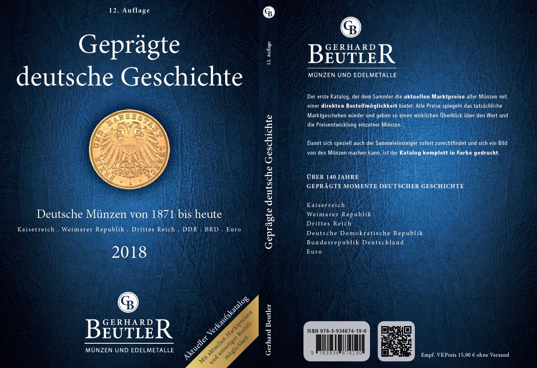 Münzkatalog Geprägte Deutsche Geschichte Beutler Münzen