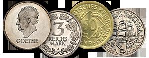 Beutler Münzen Sammlermünzen